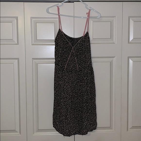 Fire Los Angeles Dresses & Skirts - Black Floral Tank Dress